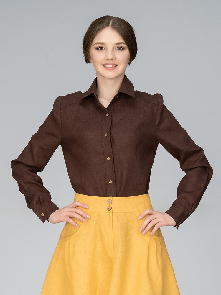 f7396c83917 Рубашка женская льняная Цена - 2 690руб.