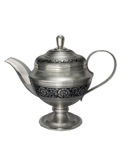 Чайник серебряный - фото 19718