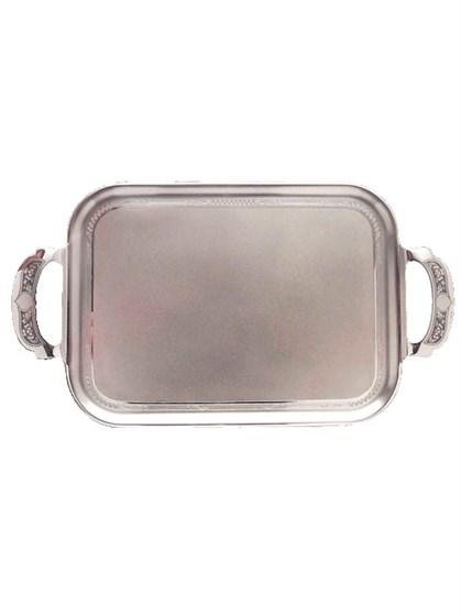 Поднос серебряный - фото 19726