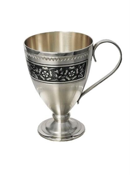 Серебряная чашка - фото 19728