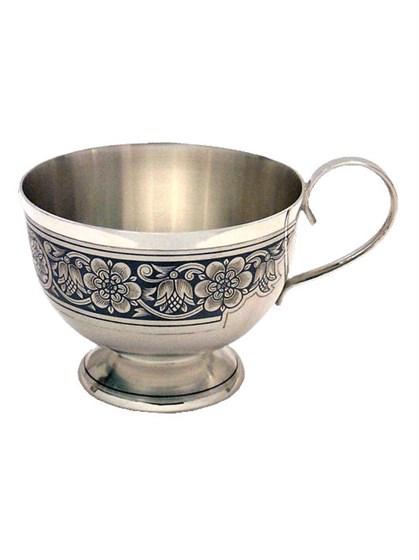 Серебряная чашка - фото 19741
