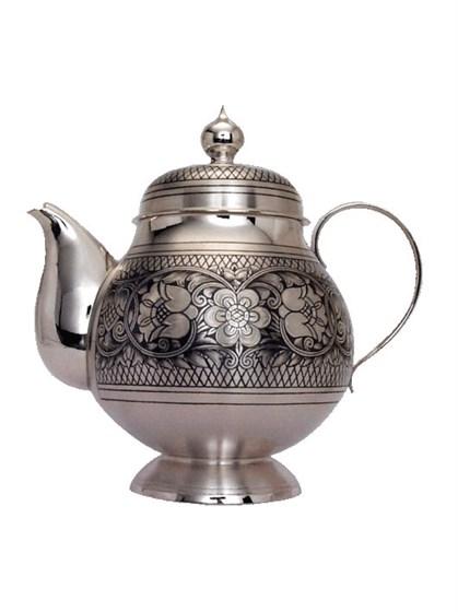 Чайник серебряный - фото 19747