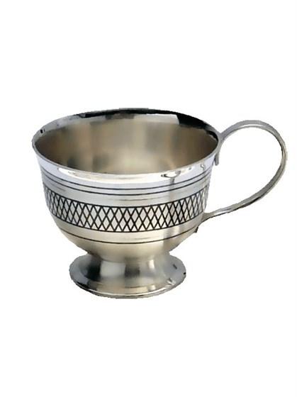 Серебряная чашка - фото 19750