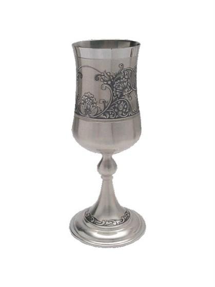 Бокал серебряный для вина - фото 19759
