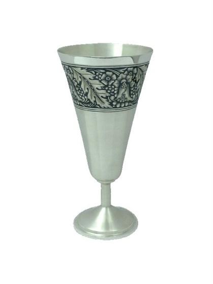 Бокал серебряный для шампанского - фото 19763