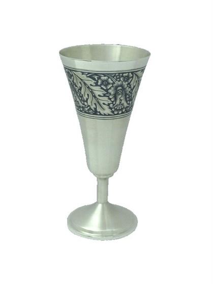 Бокал серебряный для вина - фото 19764