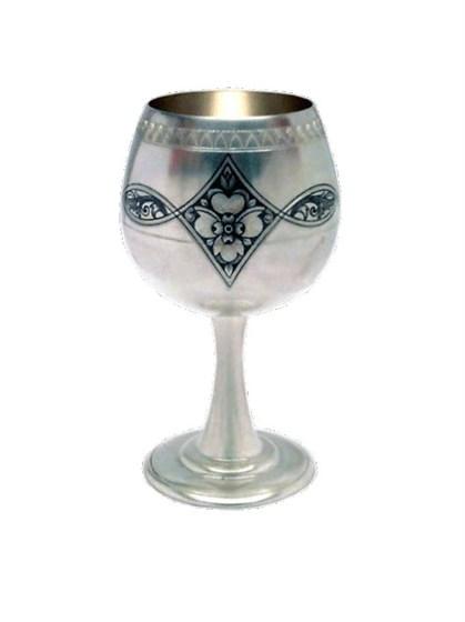 Рюмка серебряная для вина - фото 19785