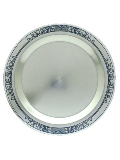Тарелочка серебряная для охотничьего набора - фото 19826