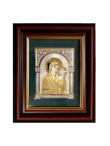 Икона серебряная Казанская Пресвятой Богородицы - фото 19921