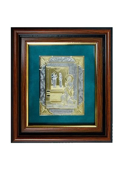 Икона серебряная Прокопий Праведный - фото 19948