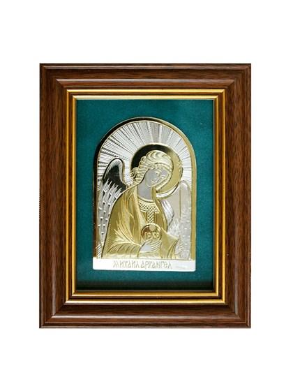 Икона серебряная Архангел Михаил - фото 19954