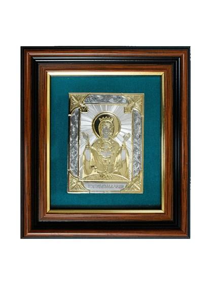Икона серебряная Неупиваемая Чаша - фото 19960