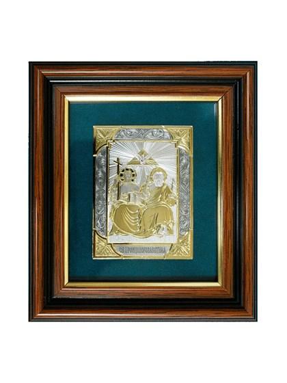Икона серебряная Святая Троица Новозаветная - фото 19963