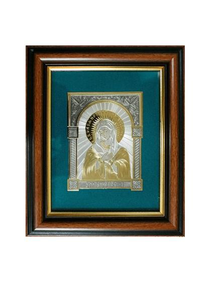 Икона серебряная Пресвятой Богородицы Умиление - фото 19965