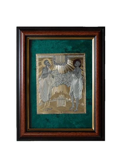 Икона серебряная Прокопий Праведный - фото 19975