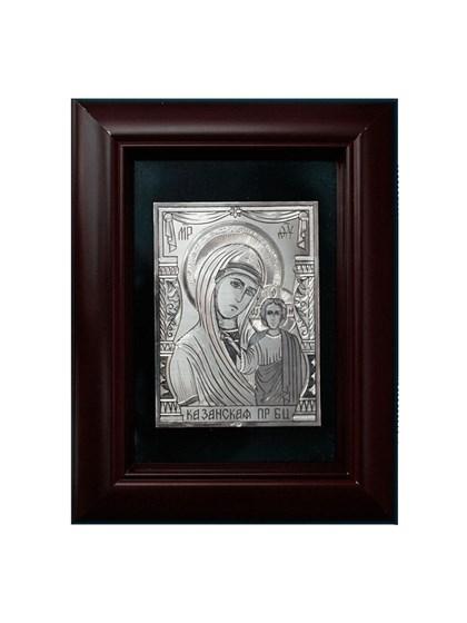 Икона серебряная Казанская Пресвятой Богородицы - фото 19991