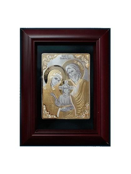 Икона серебряная Святое Семейство - фото 19995