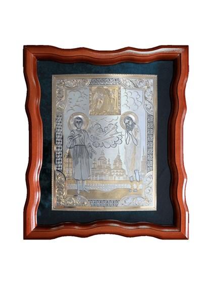 Икона серебряная Прокопий Праведный - фото 20001