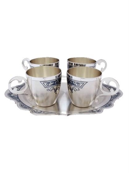 Винный набор серебряный - фото 20059