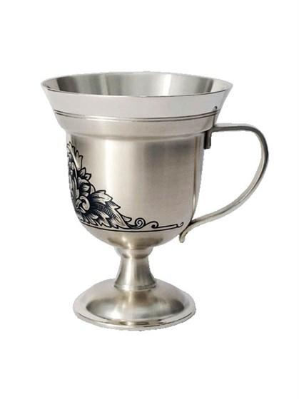 Серебряная чашка для кофе - фото 20362