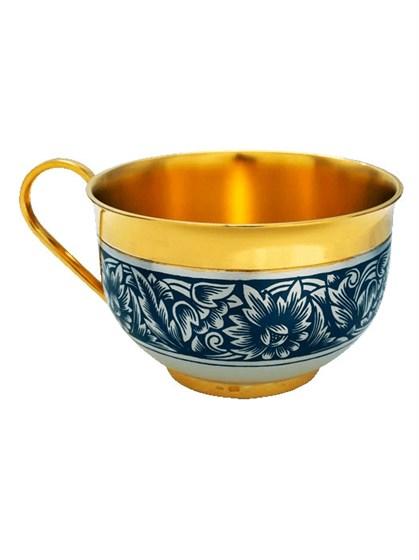 Серебряная чашка - фото 20368