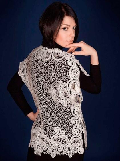 Блуза кружевная - фото 20546