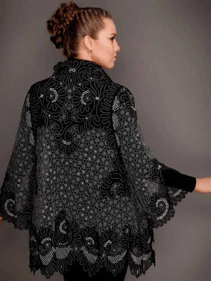 Блуза кружевная - фото 20548