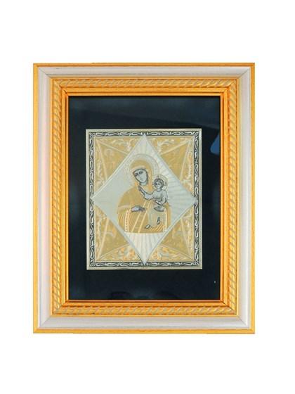 Икона серебряная Неопалимая Купина - фото 20640