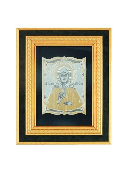 Икона серебряная Блаженная Матрона - фото 20652
