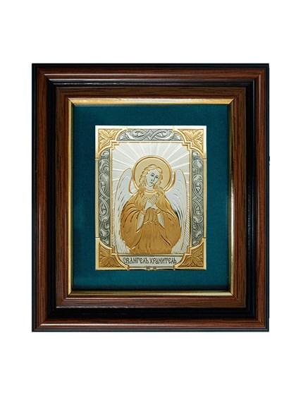 Икона серебряная Святой Ангел Хранитель - фото 20692
