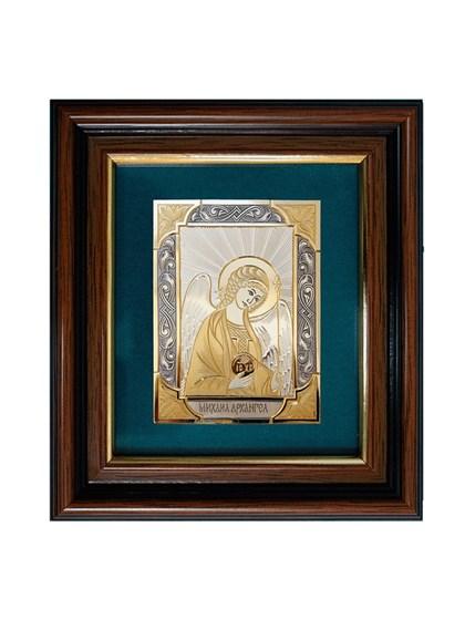 Икона серебряная Архангел Михаил - фото 20695
