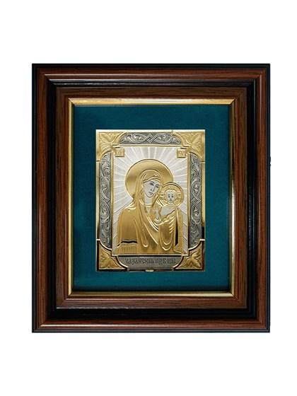 Икона серебряная Пресвятой Богородицы Казанская - фото 20704