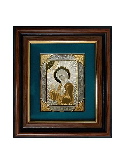 Икона серебряная Блаженная Матрона - фото 20707