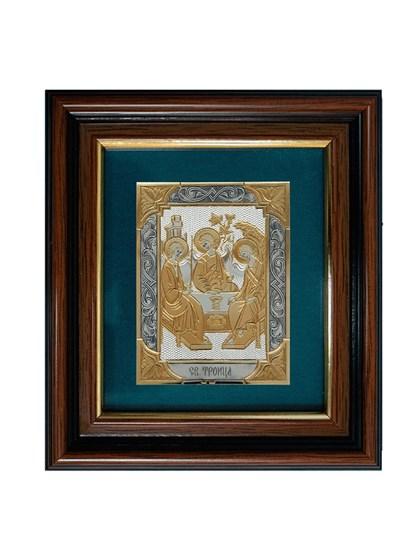 Икона серебряная Святая Троица - фото 20722