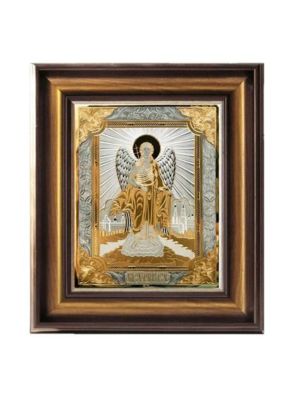 Икона серебряная Святой Ангел Хранитель - фото 20737