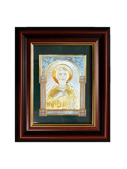 Икона серебряная Святой мученик Анатолий - фото 20746