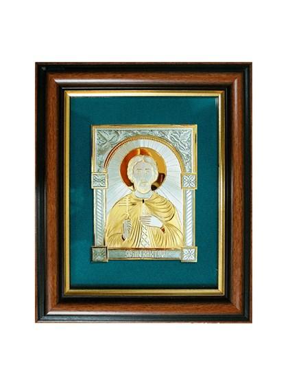 Икона серебряная Святой мученик Виктор - фото 20749