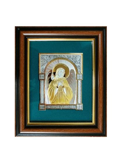 Икона серебряная Святой Ангел Хранитель - фото 20752