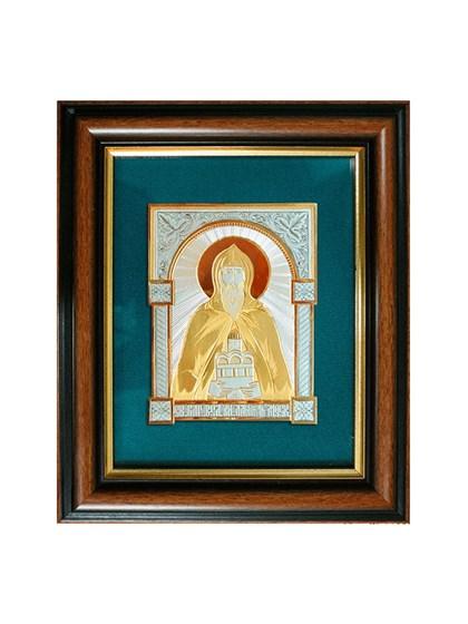 Икона серебряная Святой князь Даниил Московский - фото 20761