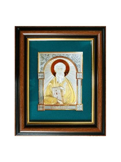 Икона серебряная Святой Апостол Матвей - фото 20773