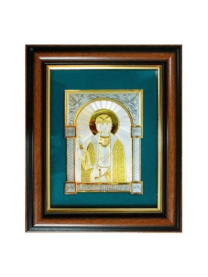Икона серебряная Святой князь Михаил Муромский - фото 20779