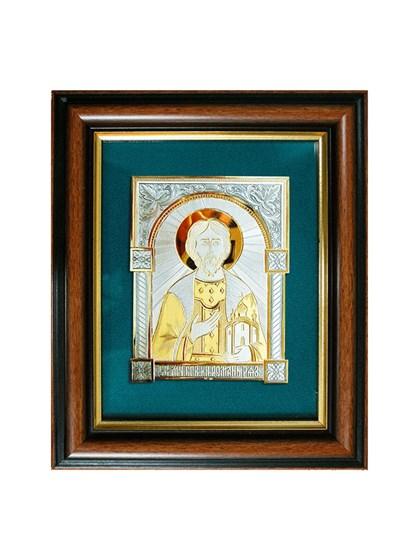 Икона серебряная Благоверный князь Роман Рязанский - фото 20782