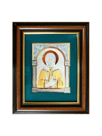 Икона серебряная Святая мученица Фотина (Светлана) - фото 20788