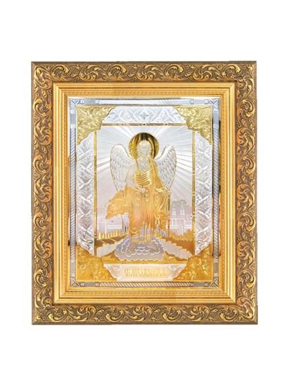 Икона серебряная Святой Ангел Хранитель - фото 20800
