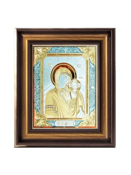 Икона серебряная Пресвятой Богородицы Казанская - фото 20830