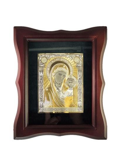 Икона серебряная Пресвятой Богородицы Казанская - фото 20944