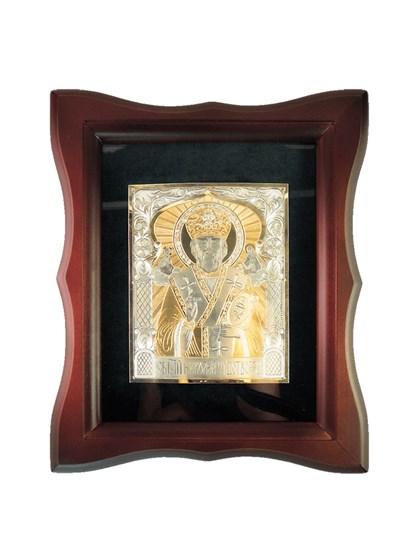 Икона серебряная Николай Чудотворец - фото 20946