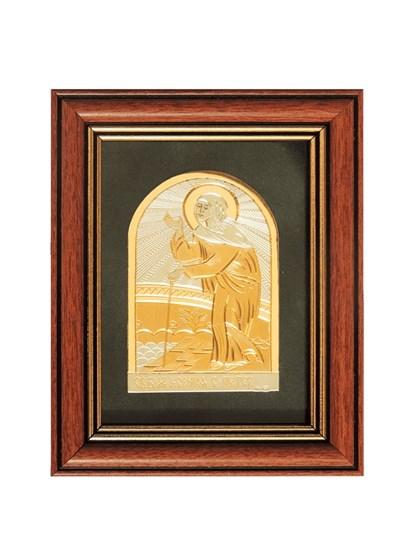 Икона серебряная Святая блаженная Ксения Петербургская - фото 20991