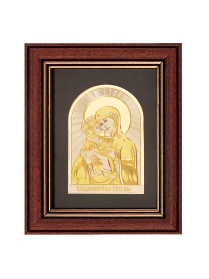 Икона серебряная Пресвятой Богородицы Владимирская - фото 20994
