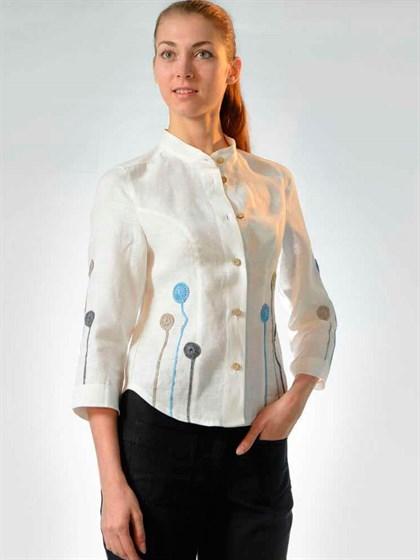 Блуза льняная - фото 21156
